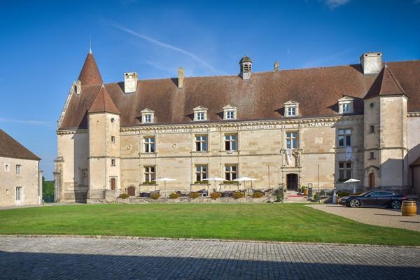 Château-hôtel en Bourgogne
