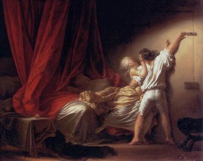 "Fragonnard ""Le Verrou"" - Louvre- J.H. Fragonnard 1777"