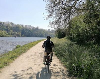 De Dinard à Dinan à vélo électrique