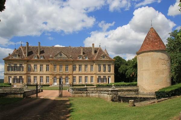 Chateau privé Bourgogne