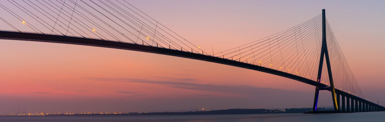Le Pont de Normandie - Estuaire de la Seine