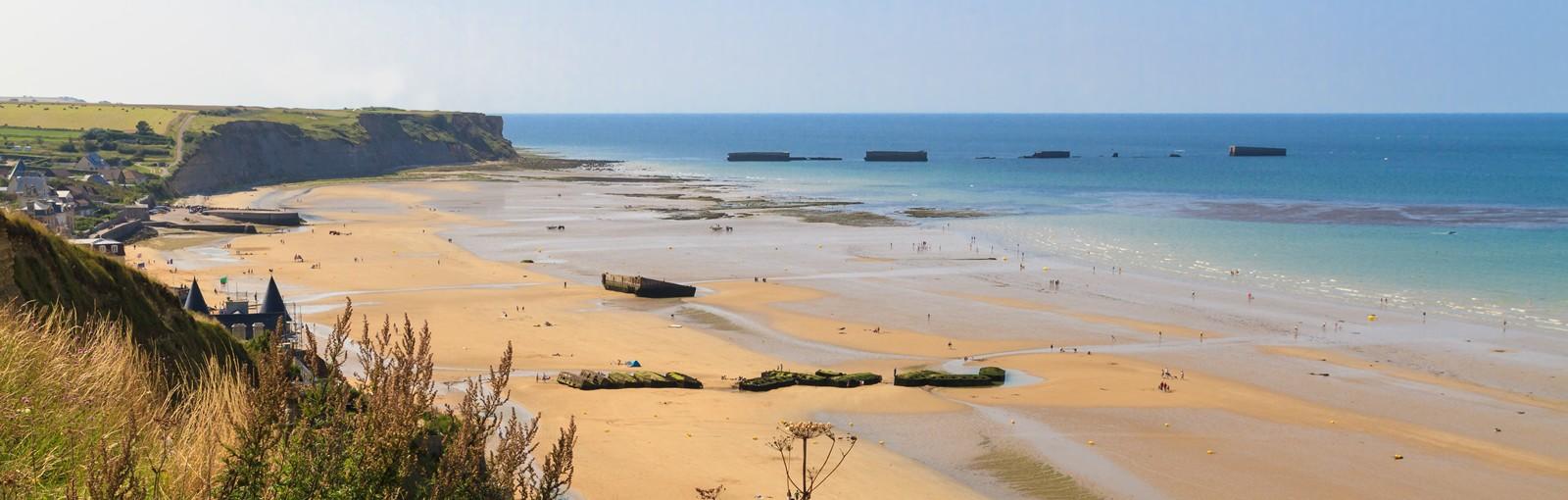 Tours Escapadedans la Manche et le Bessin - Normandie & Bretagne - Nos Escapades Partagées - En Couples ou en Individuels