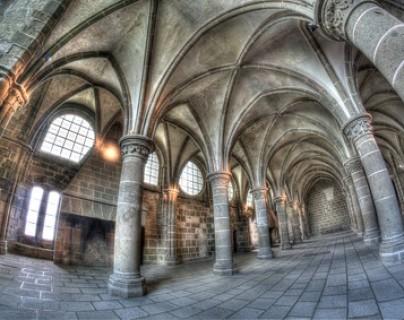"Abbaye - ""La salle des Chevaliers"""