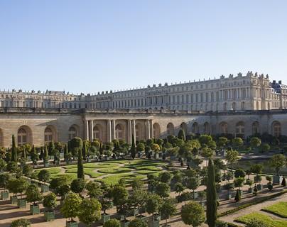 Versailles - vue depuis le Parterre de l'Orangerie