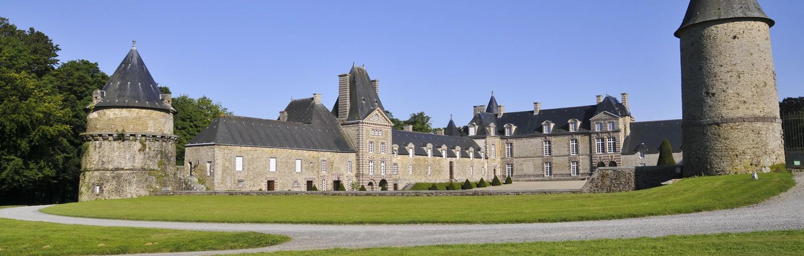 Château hôtel en Normandie