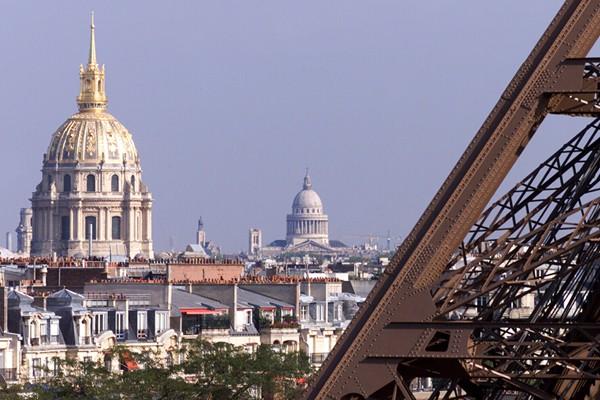 Une semaine à Paris en famille - Vue depuis la Tour Eiffel