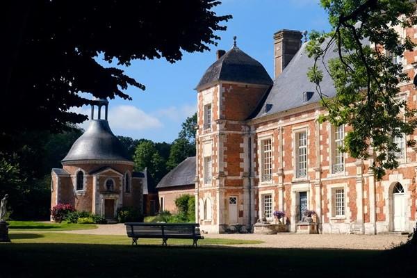 Normandie château-hôtel
