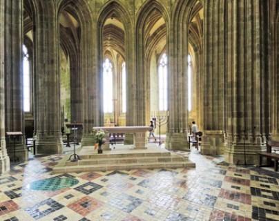 Abbaye - le chœur de l'église